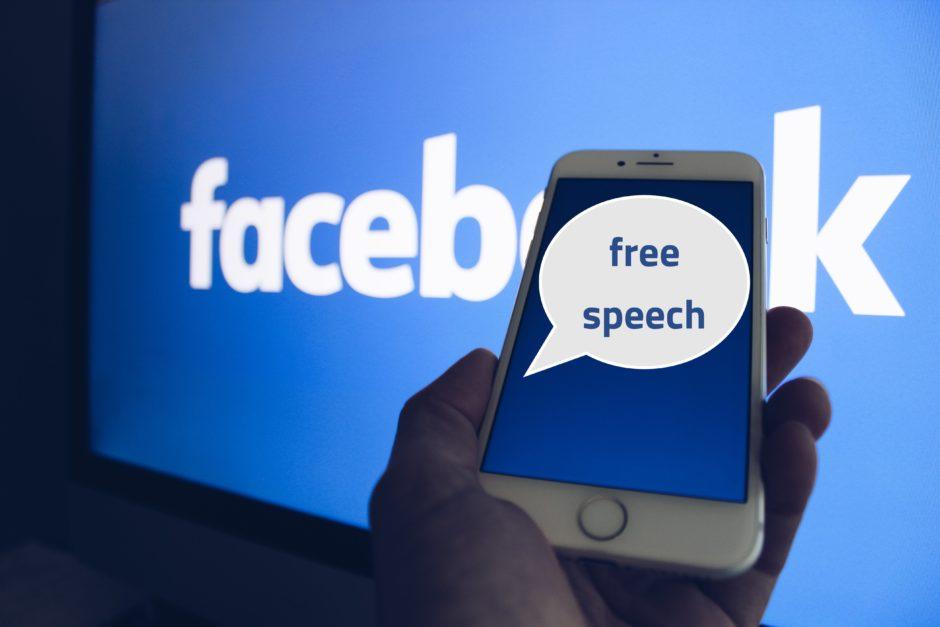 Свободното изразяване е по-силно и от Фейсбук